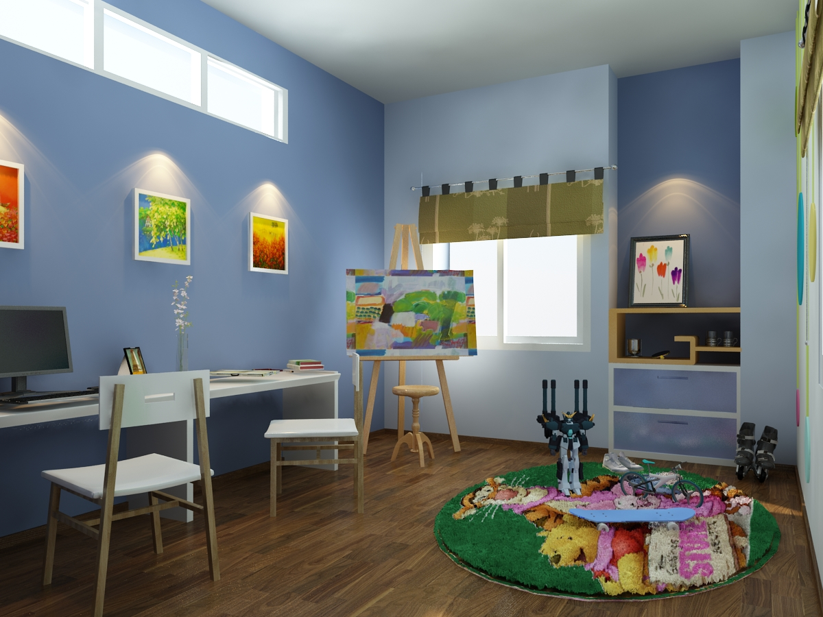 thiết kế nội thất Nhà tại Hà Nội nhà ở mặt phố 4 1548600122