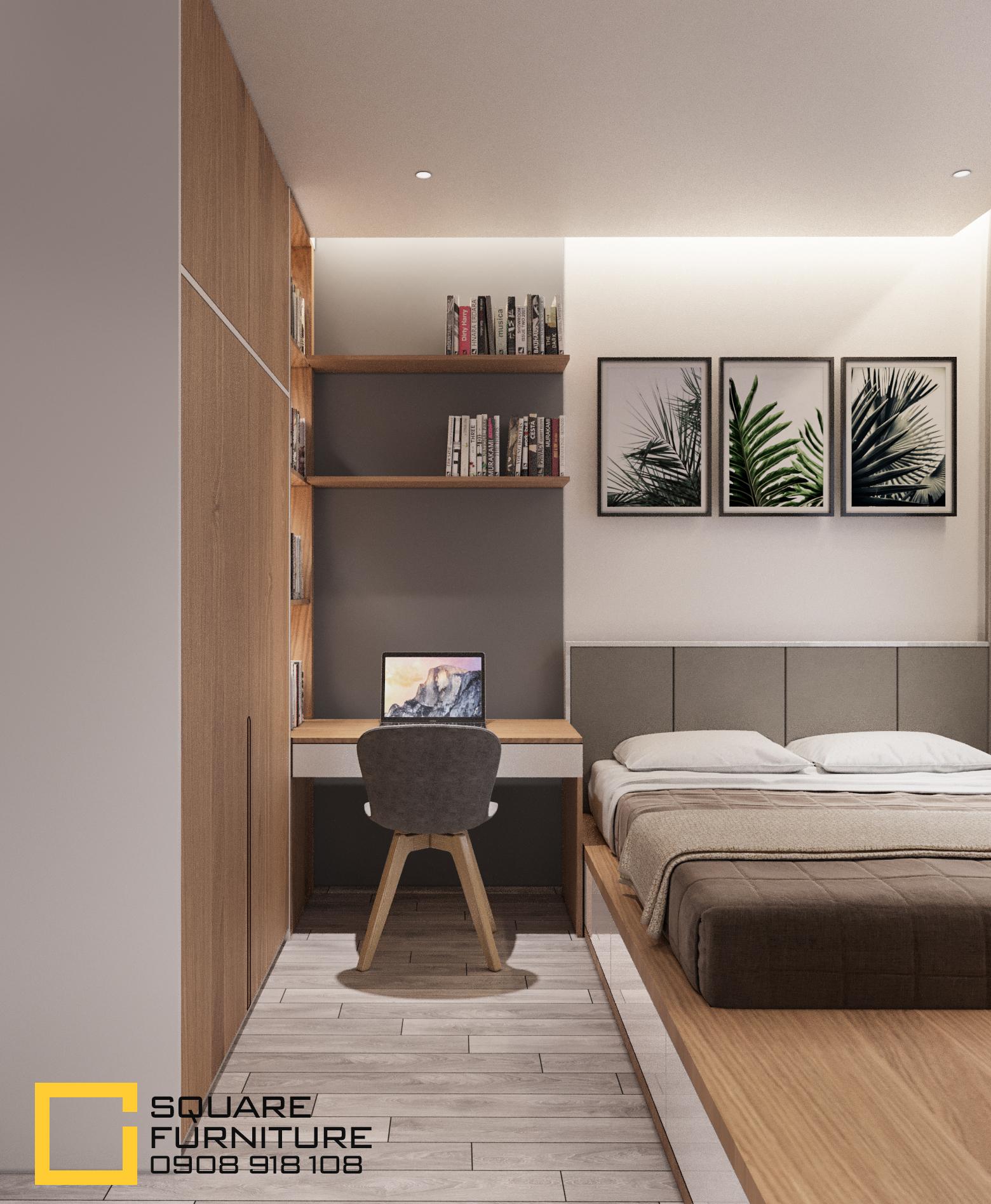 thiết kế nội thất chung cư tại Hồ Chí Minh Căn hộ Haiwaii Đảo Kim Cương 10 1559032081