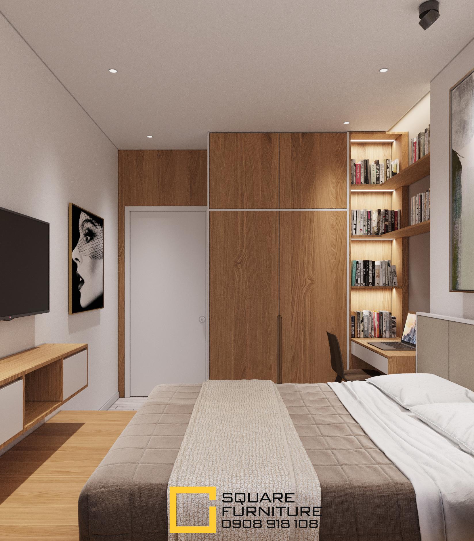 thiết kế nội thất chung cư tại Hồ Chí Minh Căn hộ Haiwaii Đảo Kim Cương 11 1559032083