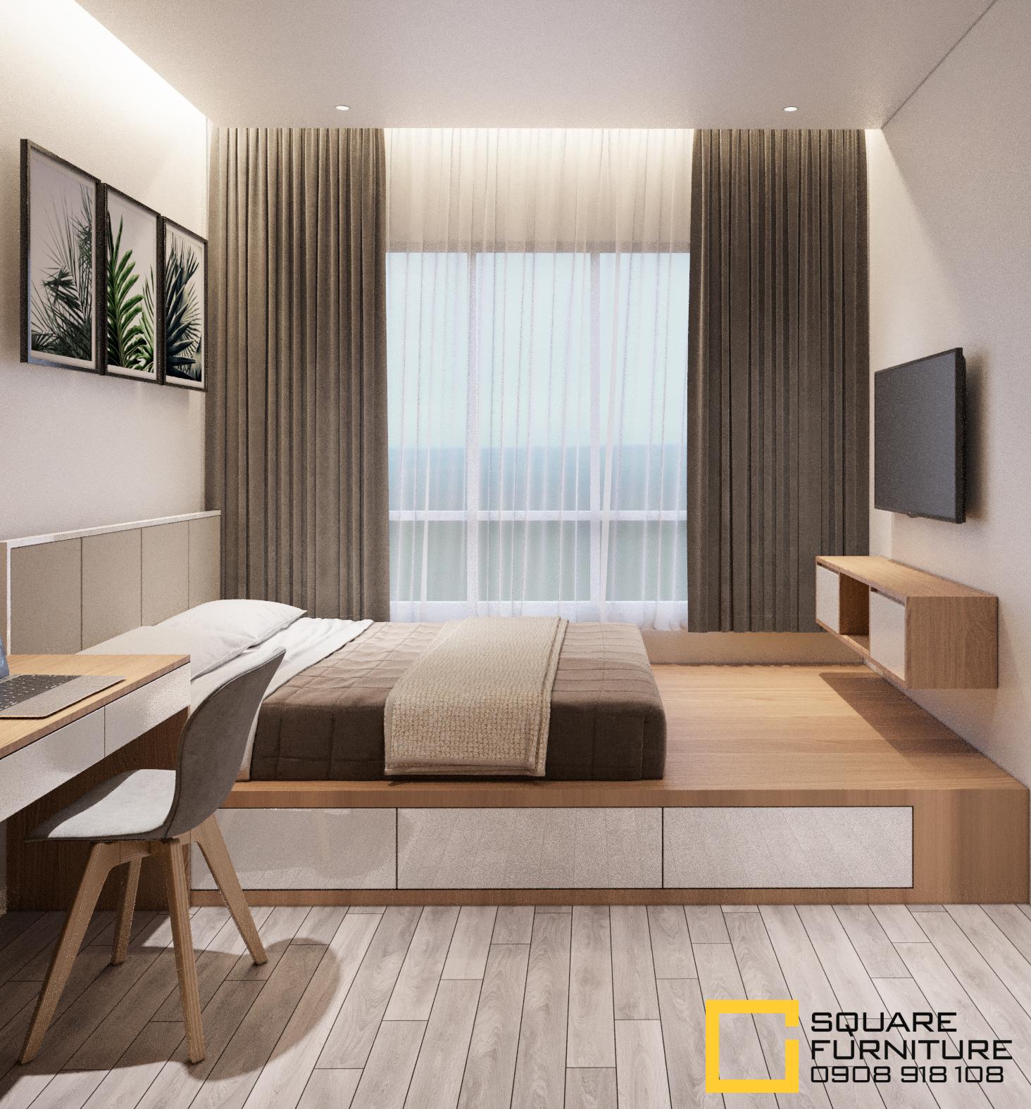 thiết kế nội thất chung cư tại Hồ Chí Minh Căn hộ Haiwaii Đảo Kim Cương 12 1559032087