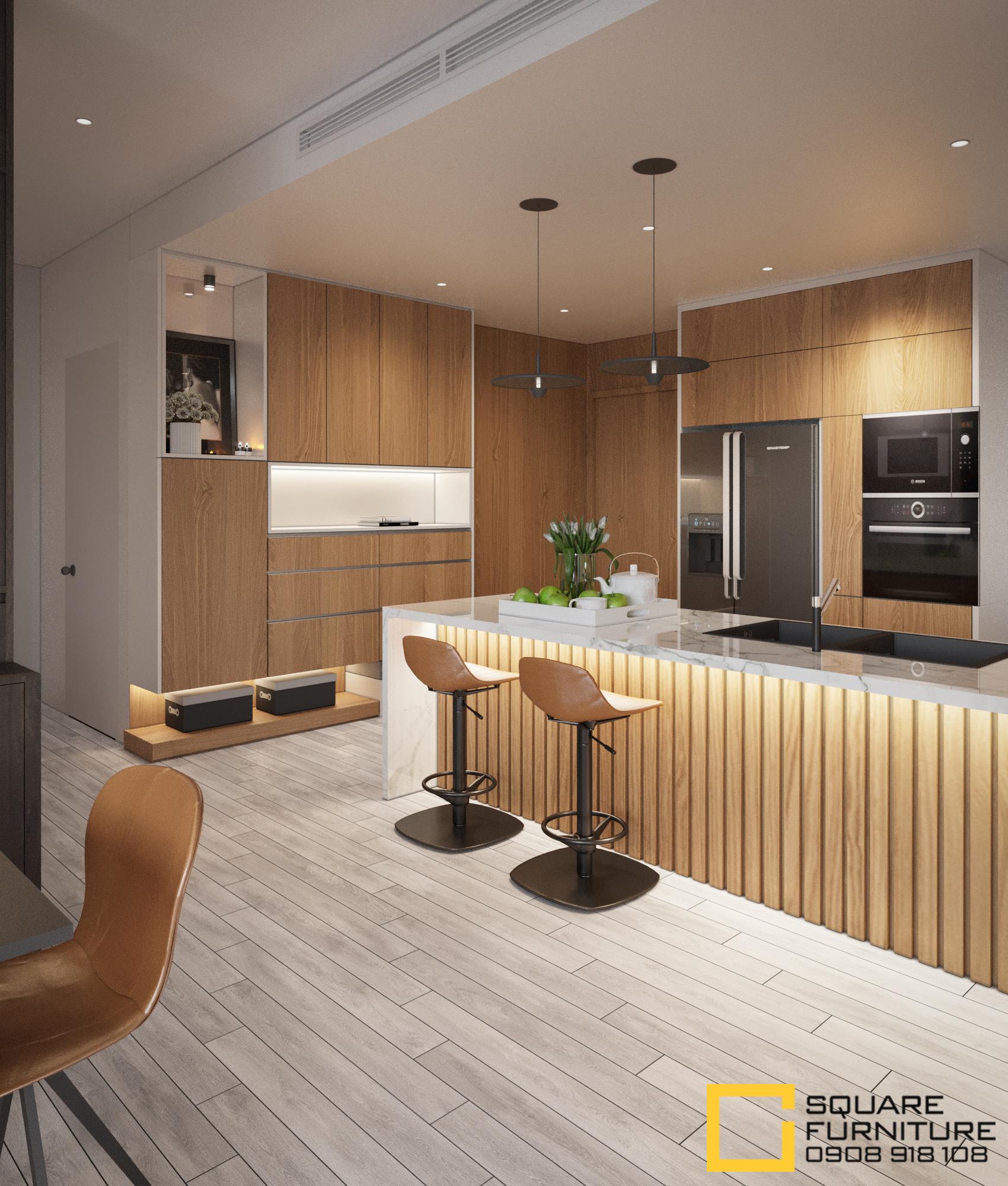 thiết kế nội thất chung cư tại Hồ Chí Minh Căn hộ Haiwaii Đảo Kim Cương 2 1559032075