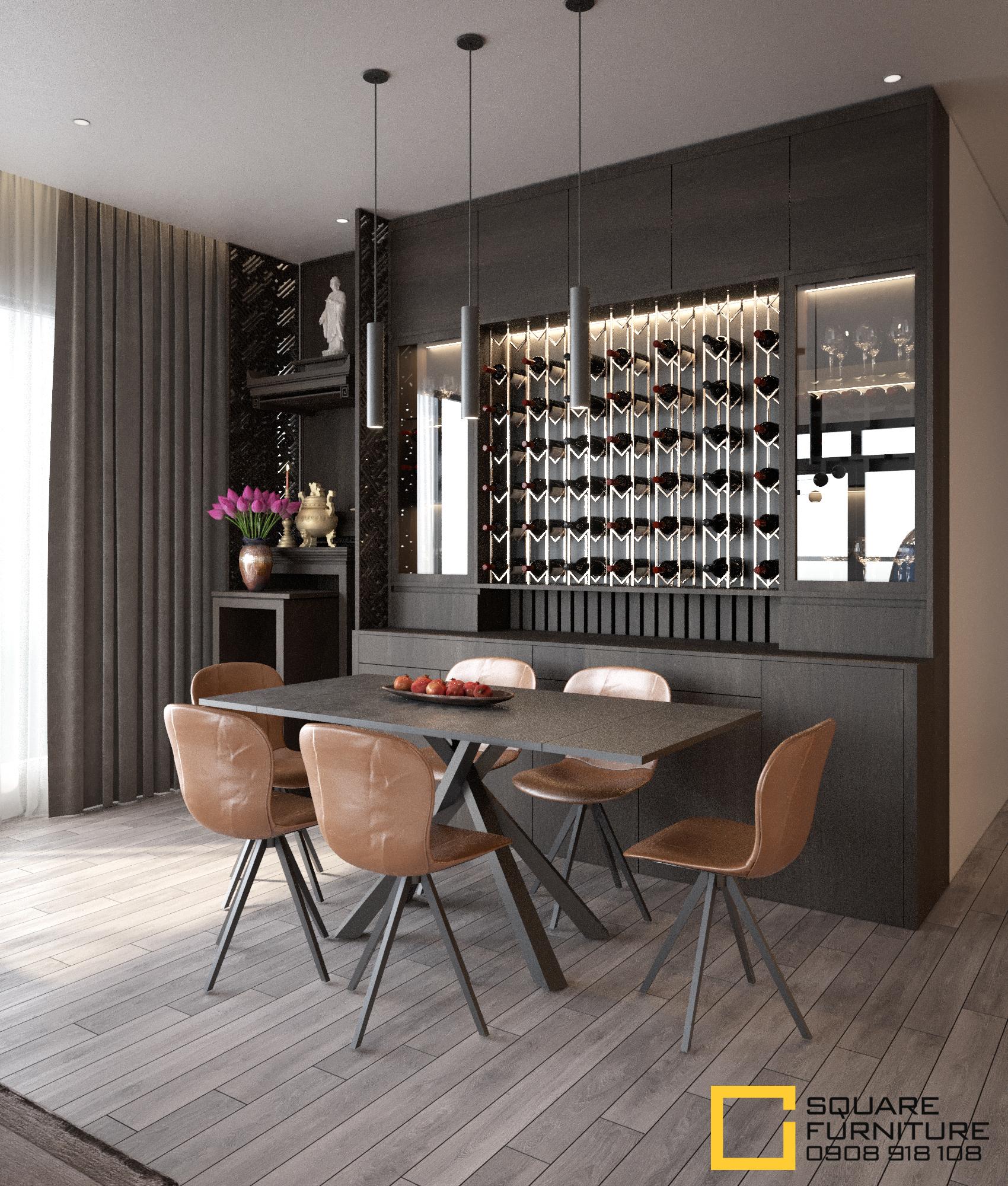 thiết kế nội thất chung cư tại Hồ Chí Minh Căn hộ Haiwaii Đảo Kim Cương 4 1559032076