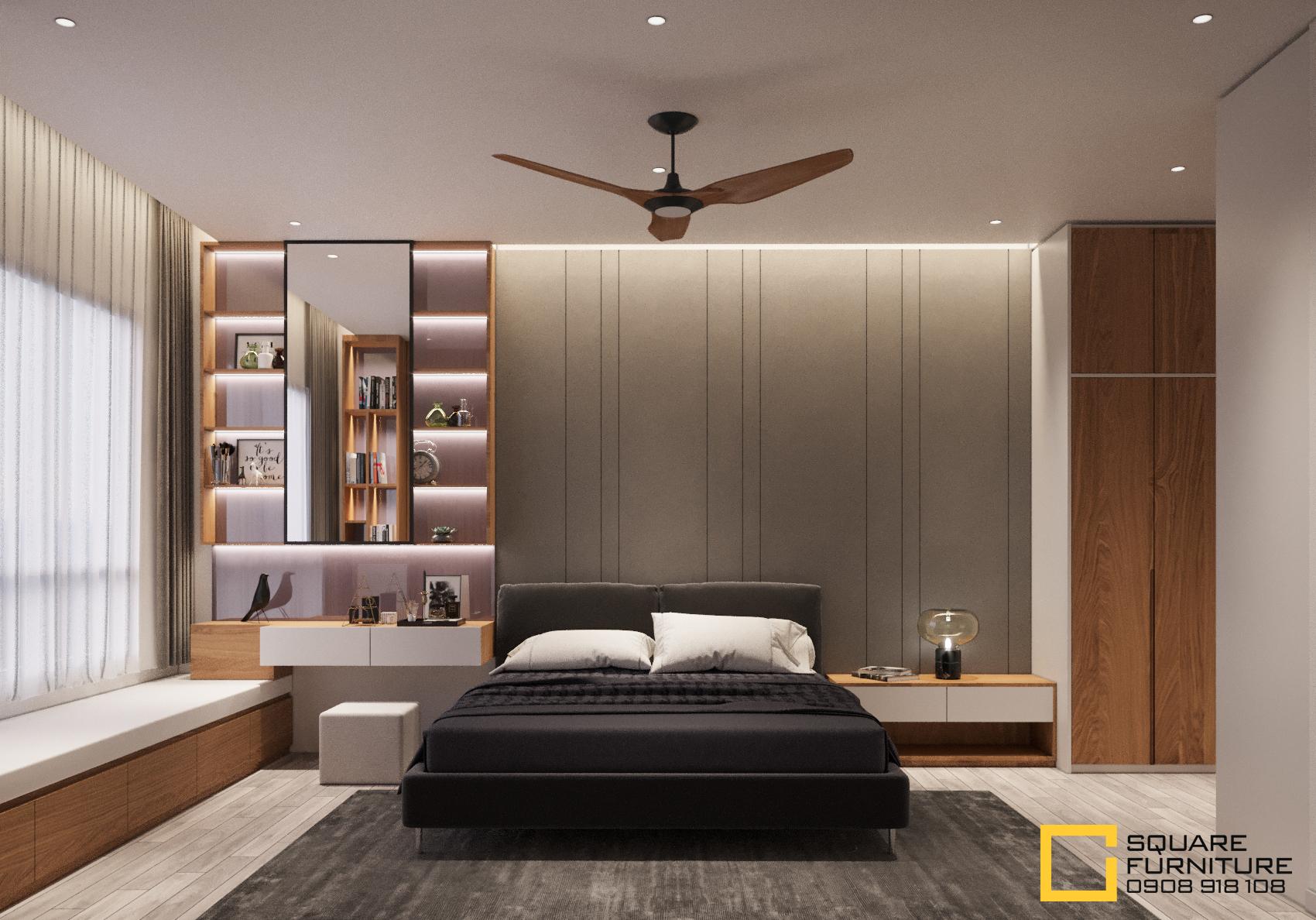 thiết kế nội thất chung cư tại Hồ Chí Minh Căn hộ Haiwaii Đảo Kim Cương 8 1559032084