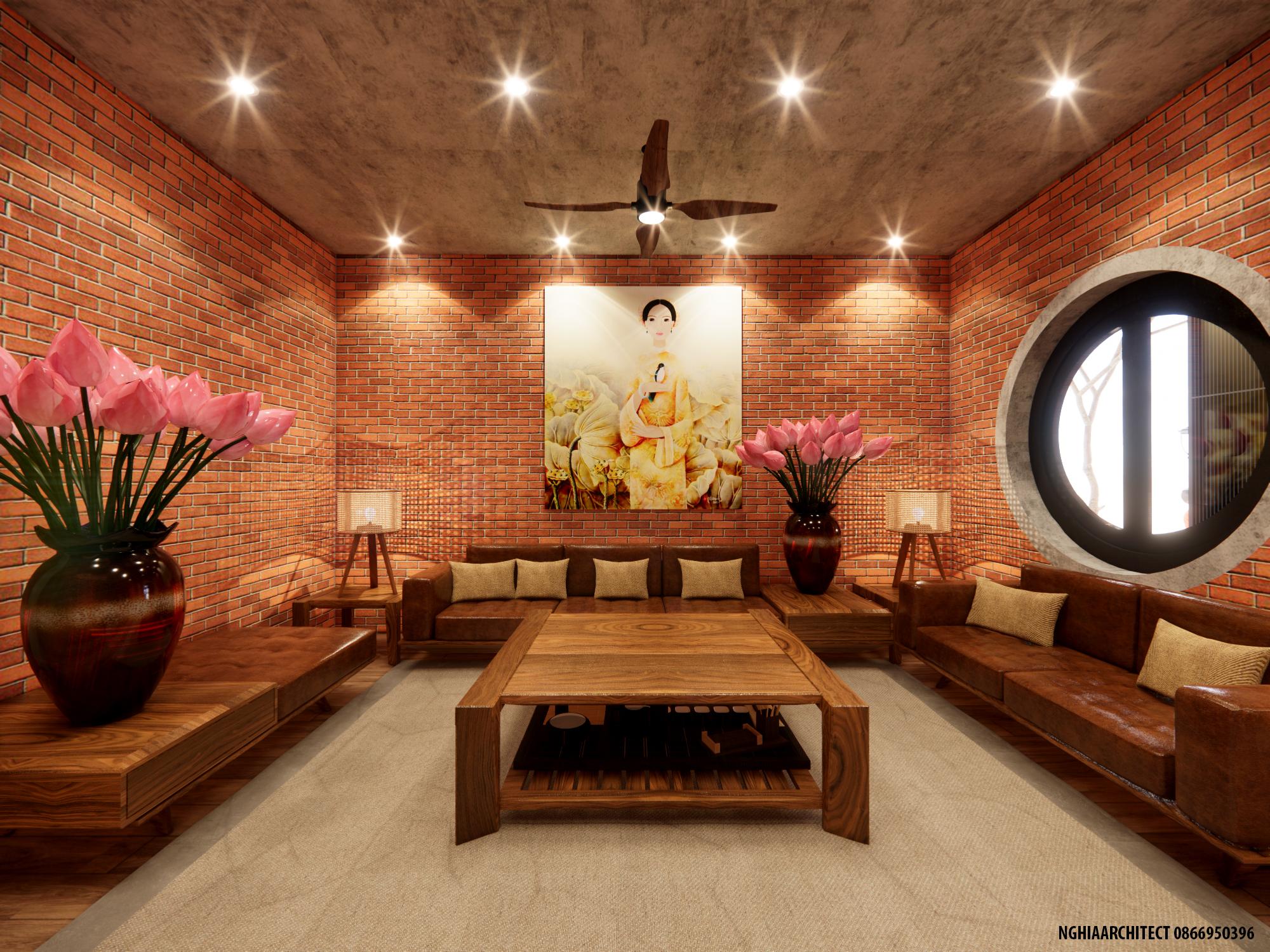 Thiết kế Nhà Mặt Phố tại Hà Nội nhà gạch 1604757988 5