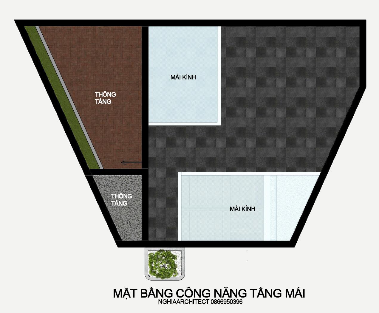 Thiết kế Nhà Mặt Phố tại Hà Nội nhà trắng 1604758177 7