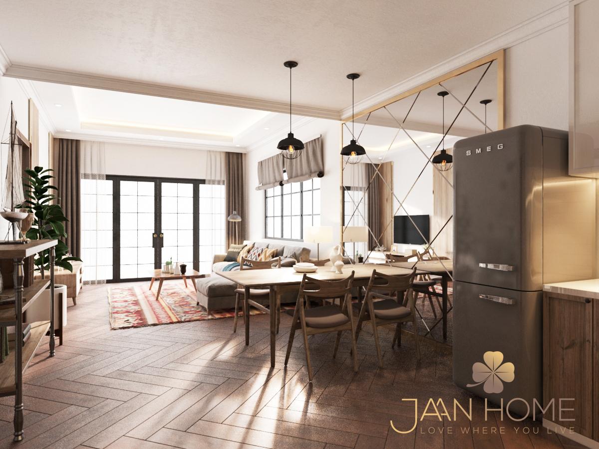Thiết kế nội thất Nhà tại Bến Tre Nhà phố Bến Tre 1597129925 6