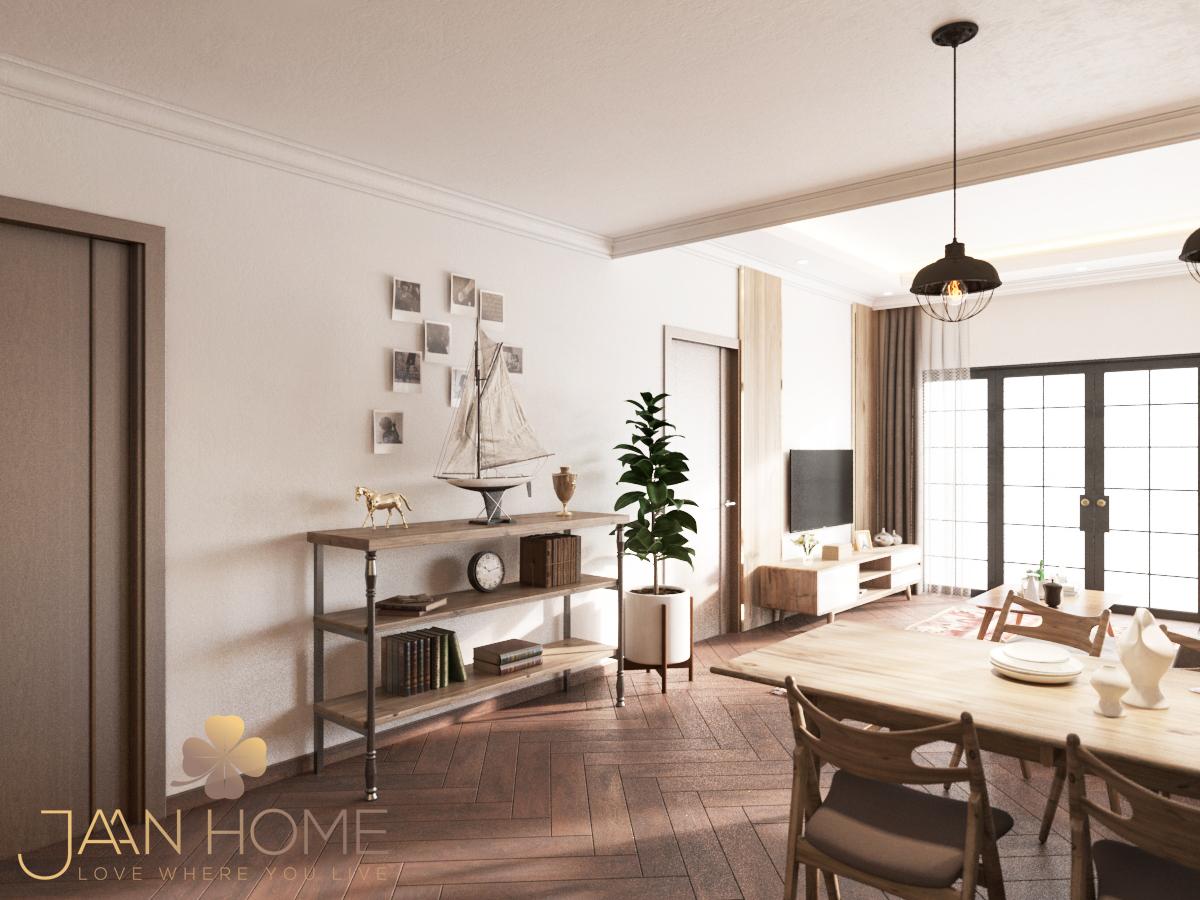 Thiết kế nội thất Nhà tại Bến Tre Nhà phố Bến Tre 1597129925 7
