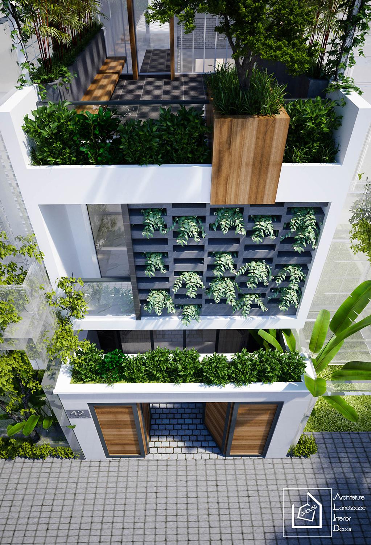 thiết kế Nhà Mặt Phố 3 tầng tại Hồ Chí Minh CÔNG TRÌNH NHÀ ANH CƯỜNG-QUẬN 9 2 1531209633