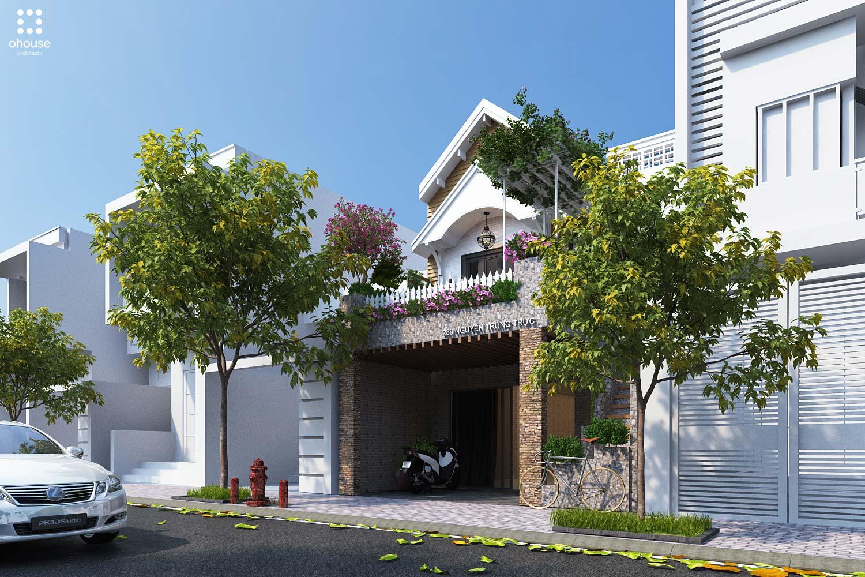 thiết kế Nhà Mặt Phố tại Kiên Giang Phú Quốc House 0 1564930545