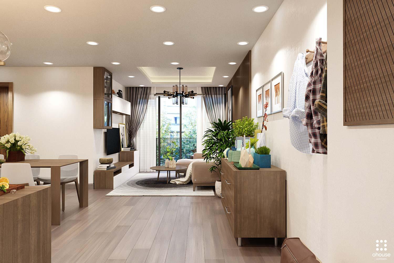 thiết kế nội thất chung cư tại Hồ Chí Minh Trung Apartment 0 1566995050
