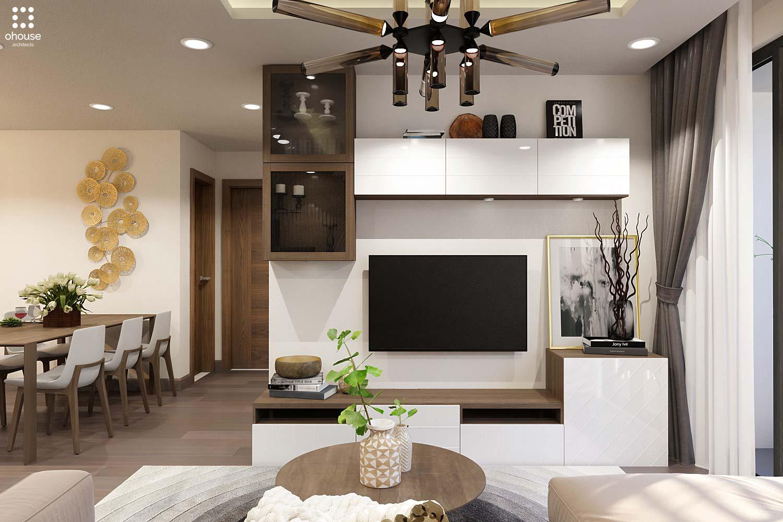 thiết kế nội thất chung cư tại Hồ Chí Minh Trung Apartment 1 1566995050