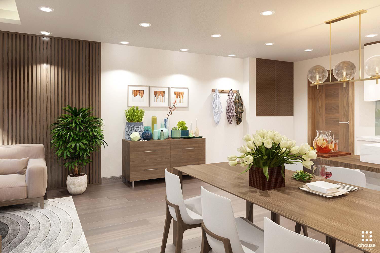thiết kế nội thất chung cư tại Hồ Chí Minh Trung Apartment 3 1566995050