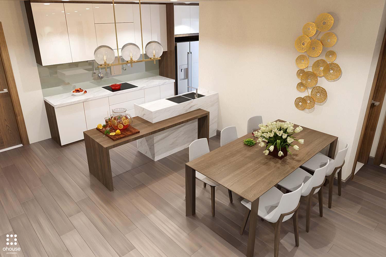 thiết kế nội thất chung cư tại Hồ Chí Minh Trung Apartment 4 1566995050