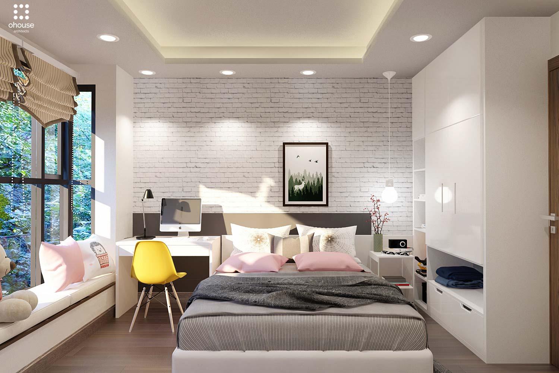 thiết kế nội thất chung cư tại Hồ Chí Minh Trung Apartment 8 1566995051