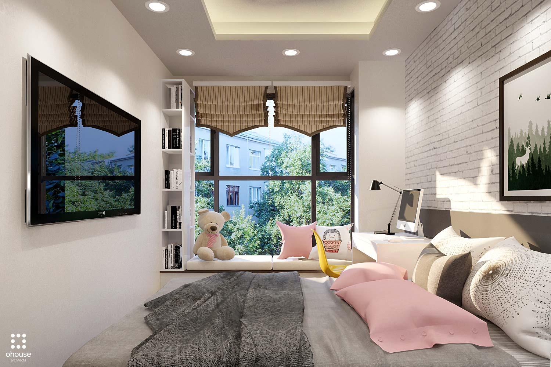 thiết kế nội thất chung cư tại Hồ Chí Minh Trung Apartment 9 1566995051