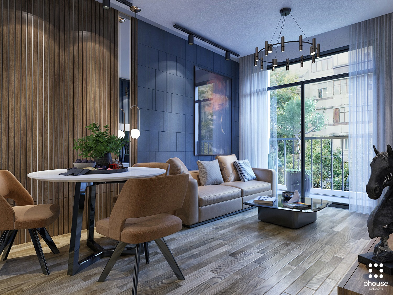 Thiết kế nội thất Chung Cư tại Hồ Chí Minh Chung cư anh Phi - Quận 9 1582603494 0