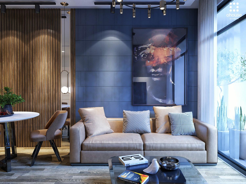 Thiết kế nội thất Chung Cư tại Hồ Chí Minh Chung cư anh Phi - Quận 9 1582603504 2