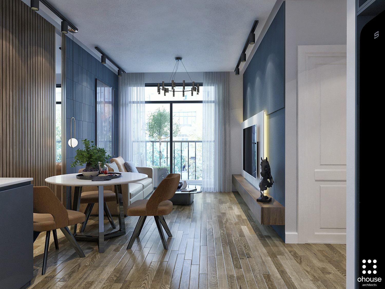 Thiết kế nội thất Chung Cư tại Hồ Chí Minh Chung cư anh Phi - Quận 9 1582603505 1