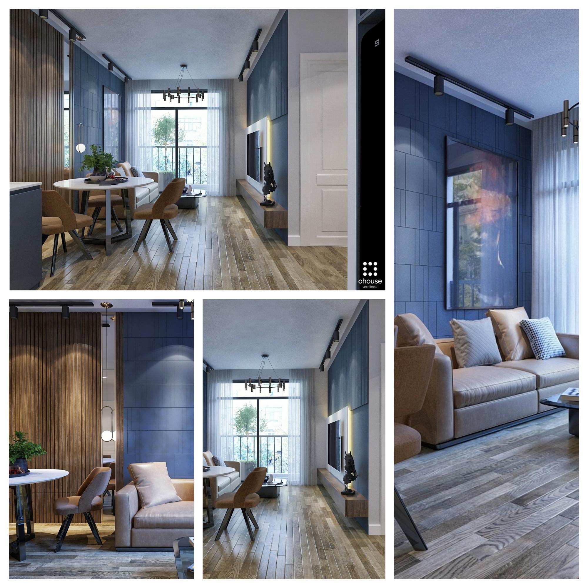 Thiết kế nội thất Chung Cư tại Hồ Chí Minh Chung cư anh Phi - Quận 9 1582603524 5