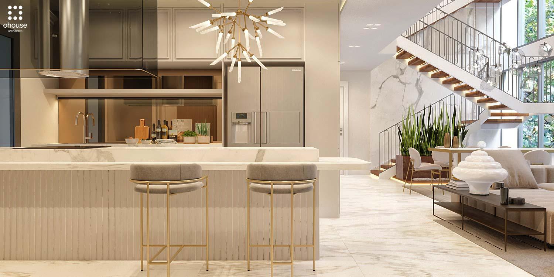 Thiết kế nội thất Chung Cư tại Hồ Chí Minh Phương Án Căn Hộ Duplex 1586014380 6
