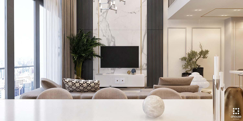 Thiết kế nội thất Chung Cư tại Hồ Chí Minh Phương Án Căn Hộ Duplex 1586014384 3