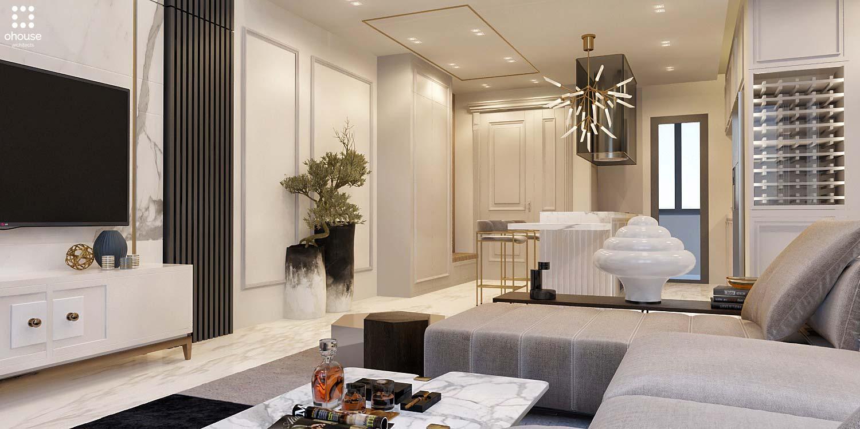 Thiết kế nội thất Chung Cư tại Hồ Chí Minh Phương Án Căn Hộ Duplex 1586014387 5