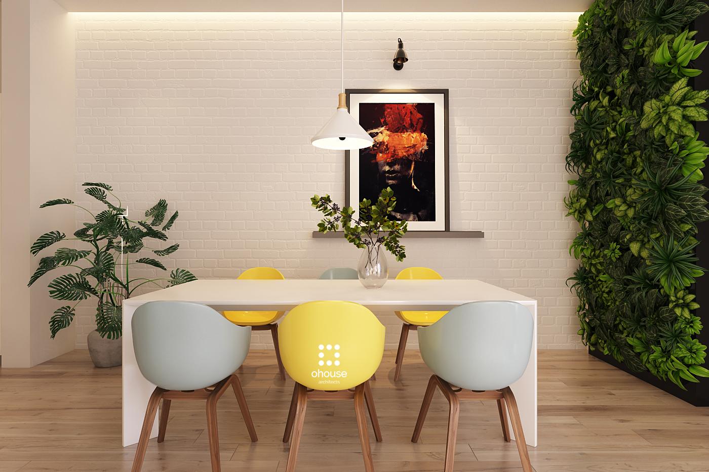 Thiết kế nội thất Nhà Mặt Phố tại Hồ Chí Minh Nội thất Nhà Phố Hà Đô 1590593195 0