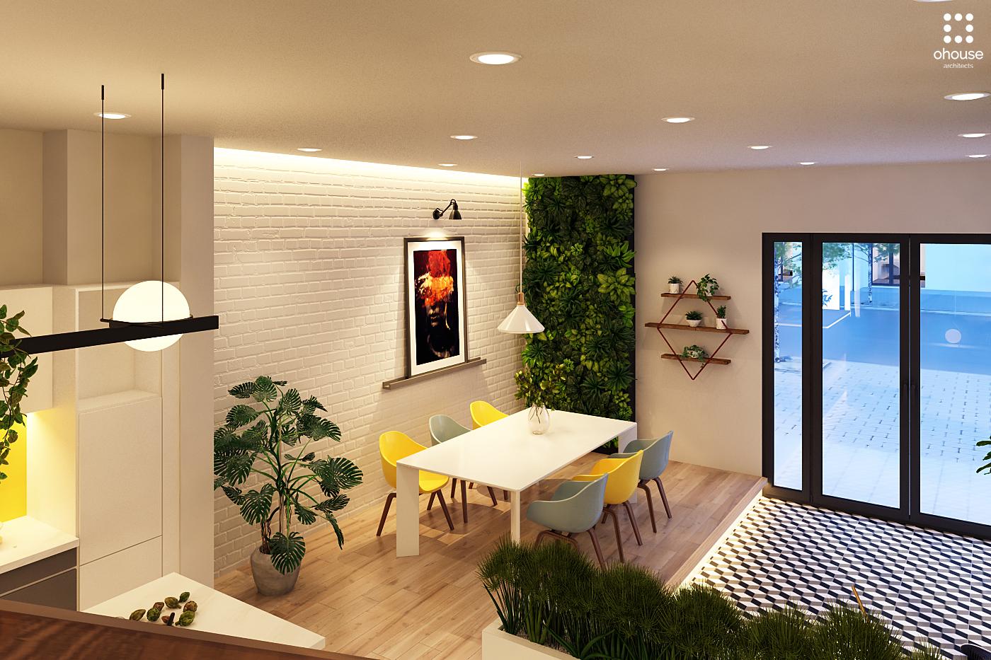 Thiết kế nội thất Nhà Mặt Phố tại Hồ Chí Minh Nội thất Nhà Phố Hà Đô 1590593224 8