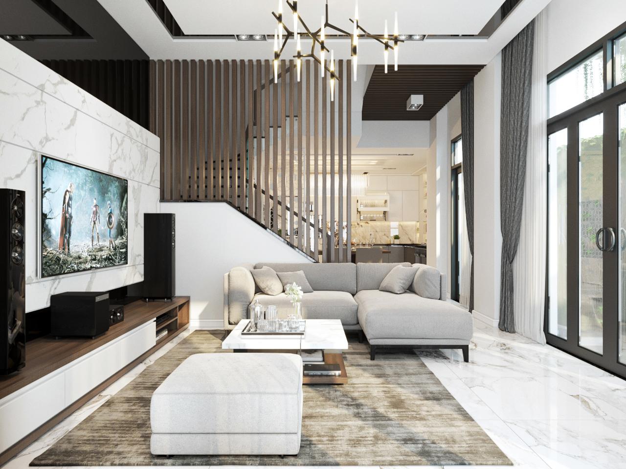 thiết kế nội thất Nhà Mặt Phố tại Hà Nội Nhà Phố - Văn Tiến Dũng 3 1562827641