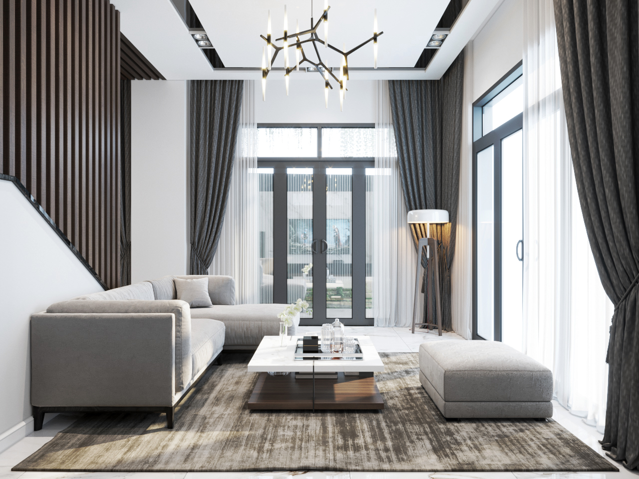 thiết kế nội thất Nhà Mặt Phố tại Hà Nội Nhà Phố - Văn Tiến Dũng 4 1562827641