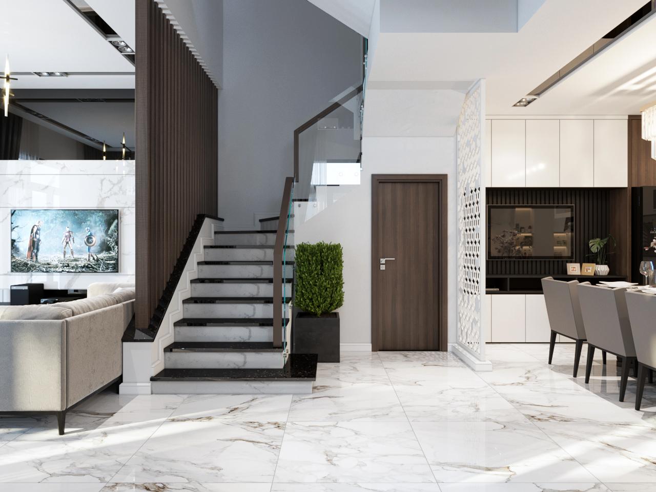 thiết kế nội thất Nhà Mặt Phố tại Hà Nội Nhà Phố - Văn Tiến Dũng 6 1562827642