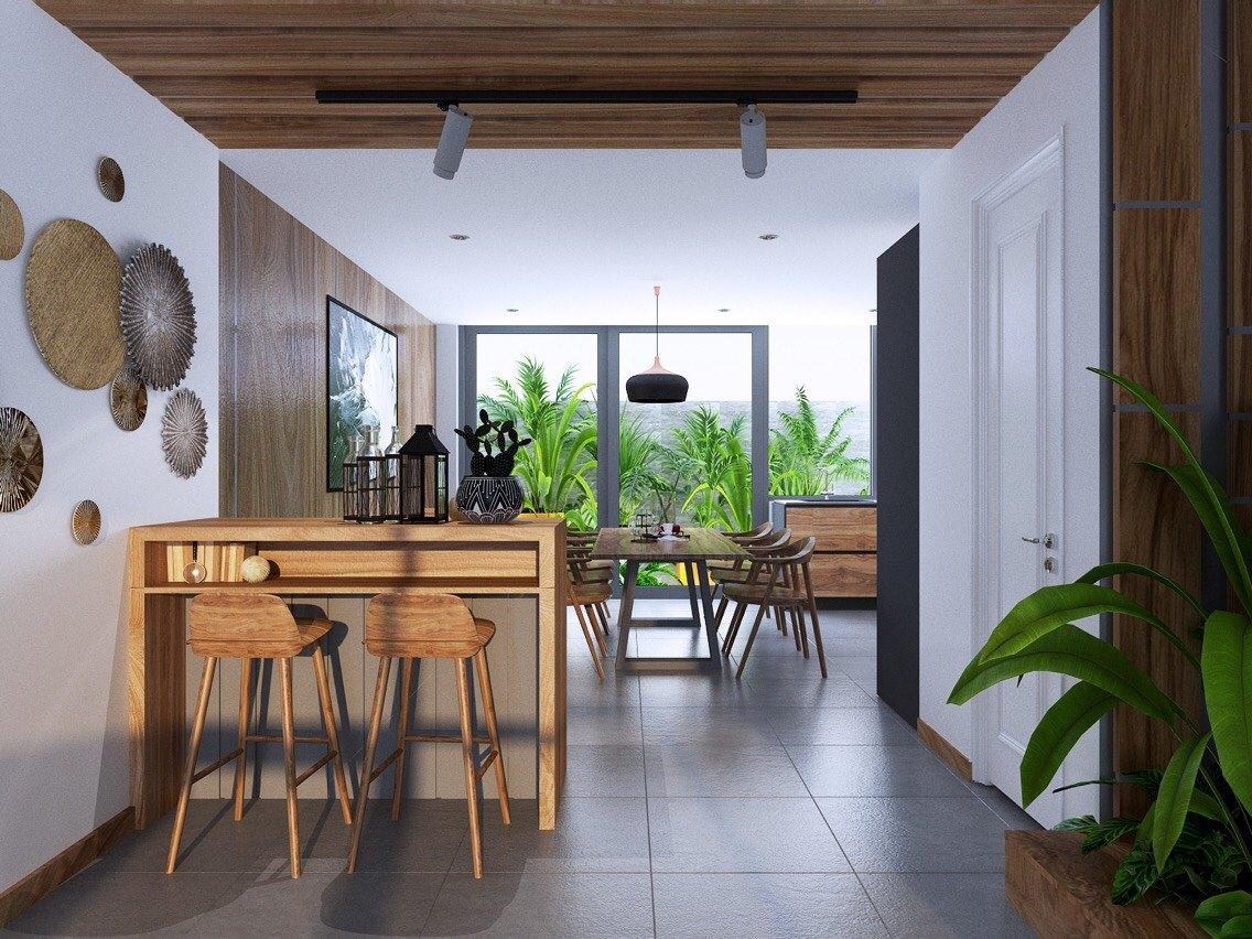 thiết kế nội thất Biệt Thự tại Quảng Bình EURO VILLAGE HOUSE 3 1531705852