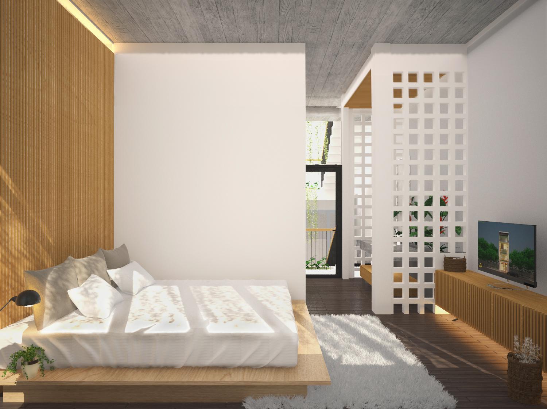 thiết kế Nhà Mặt Phố 3 tầng tại Đà Nẵng The Balcony in House 0 1550158201