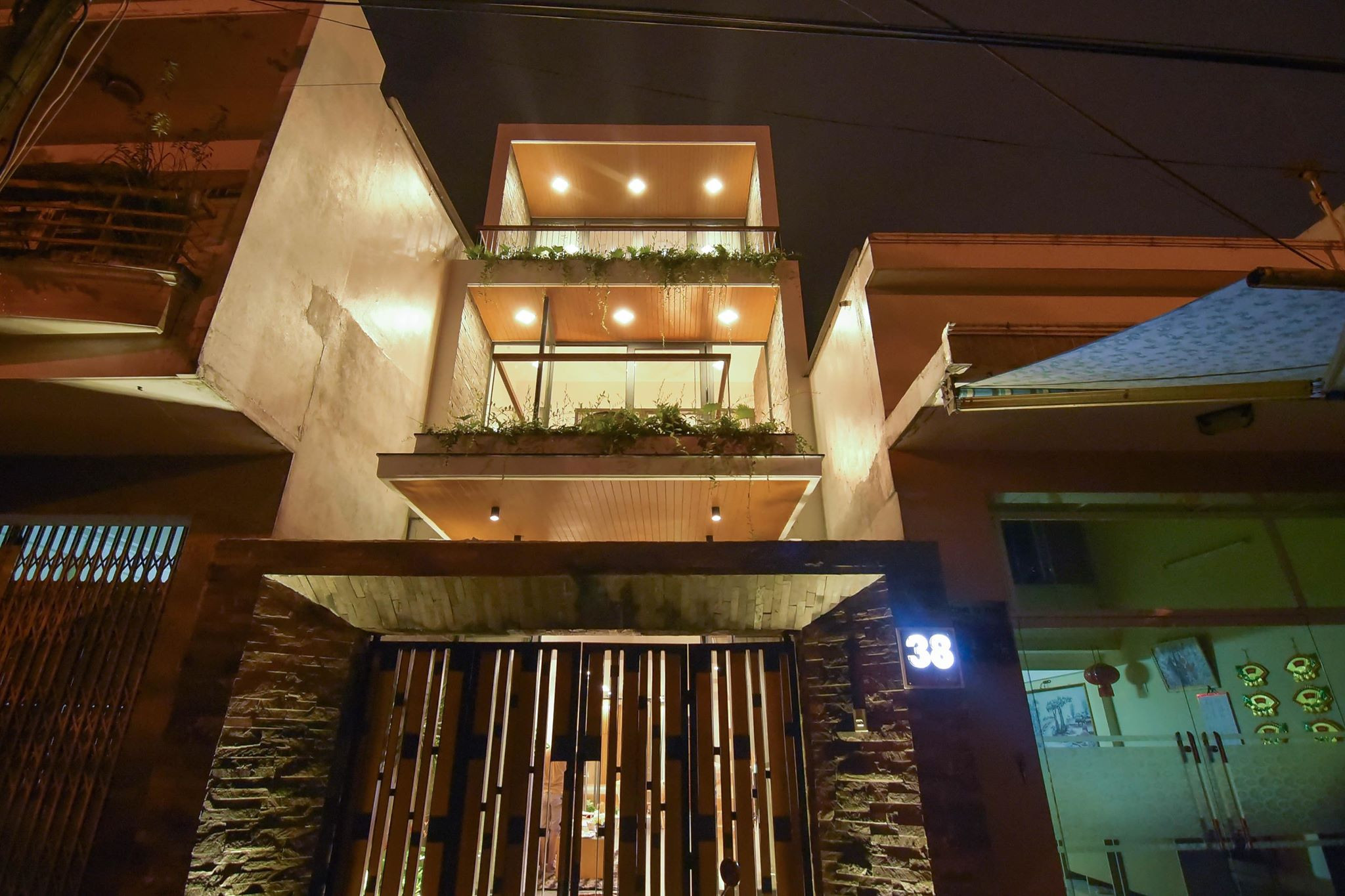 thiết kế Nhà Mặt Phố 3 tầng tại Đà Nẵng THE GARDEN HOUSE 10 1561348250