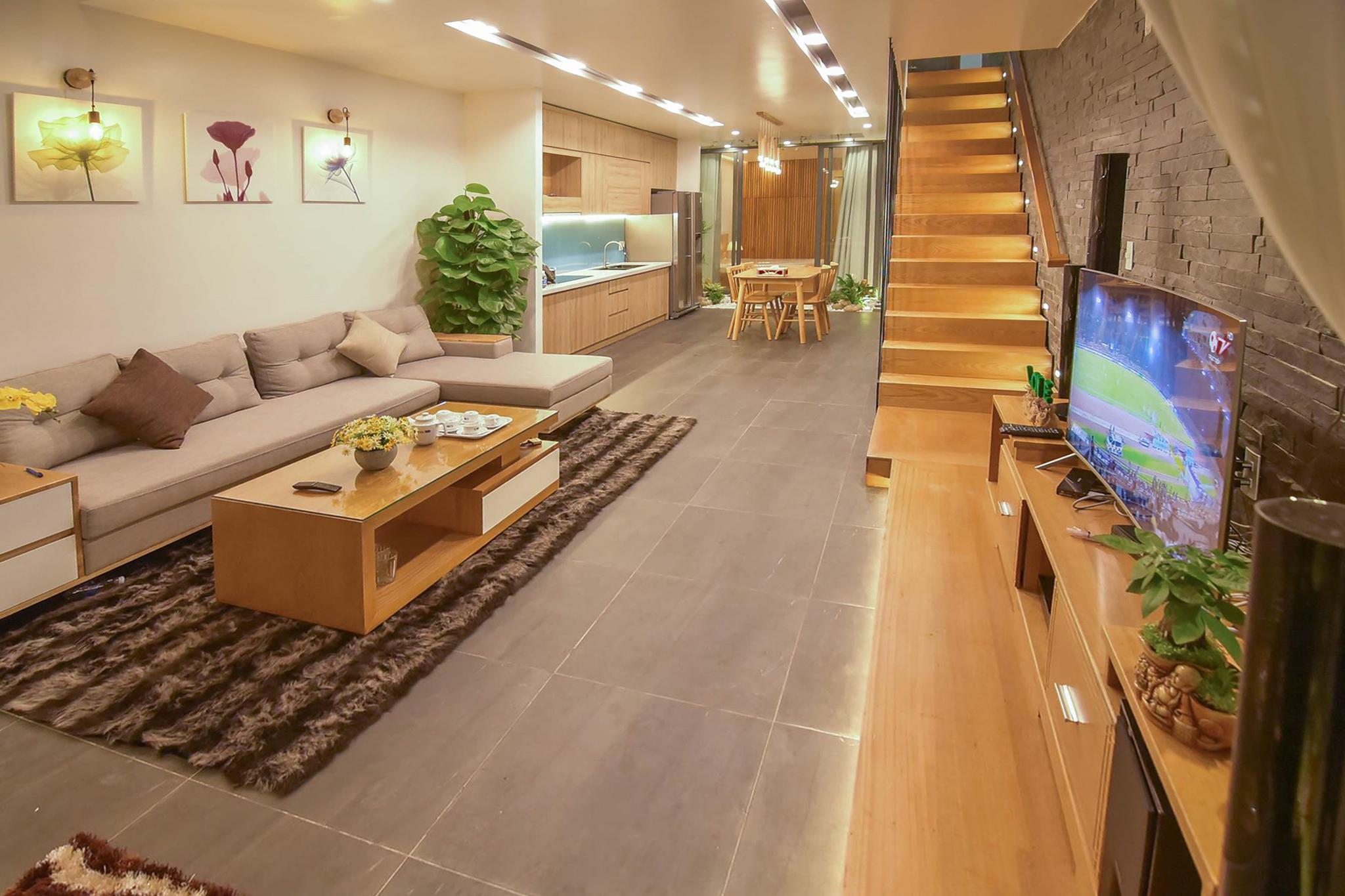 thiết kế Nhà Mặt Phố 3 tầng tại Đà Nẵng THE GARDEN HOUSE 1 1561348248