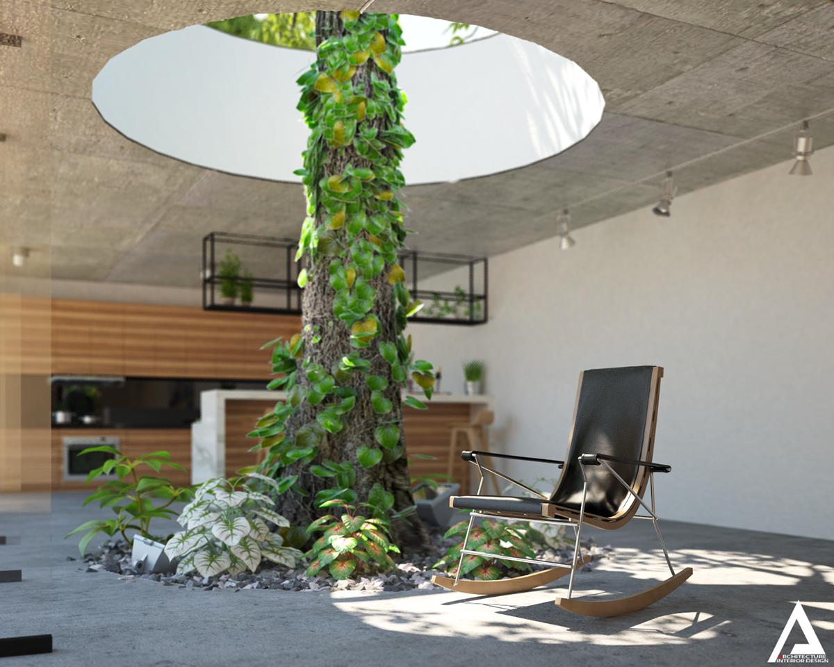 thiết kế Biệt Thự Villa hiện đại 15