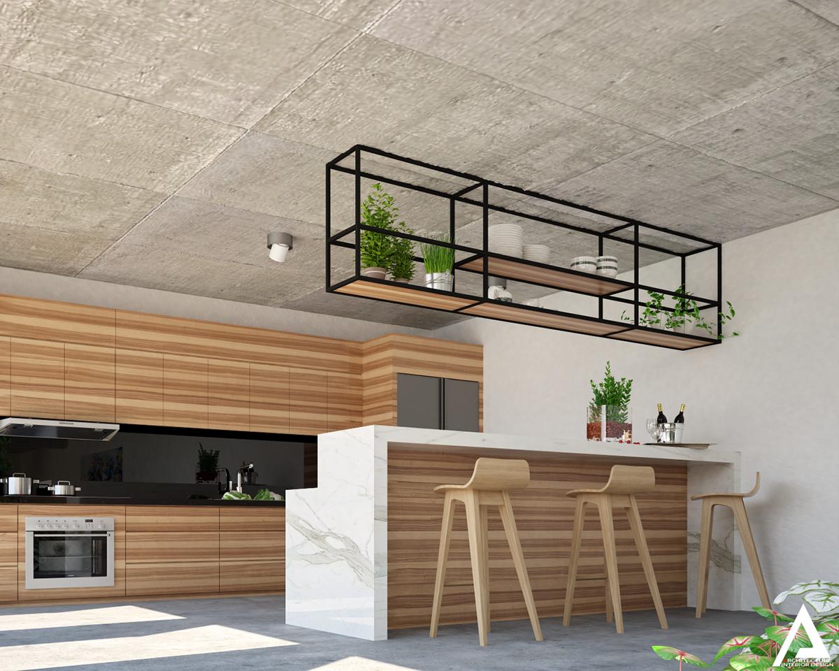 thiết kế Biệt Thự Villa hiện đại 20