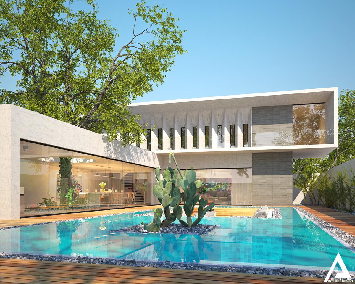 thiết kế Biệt Thự Villa hiện đại 42