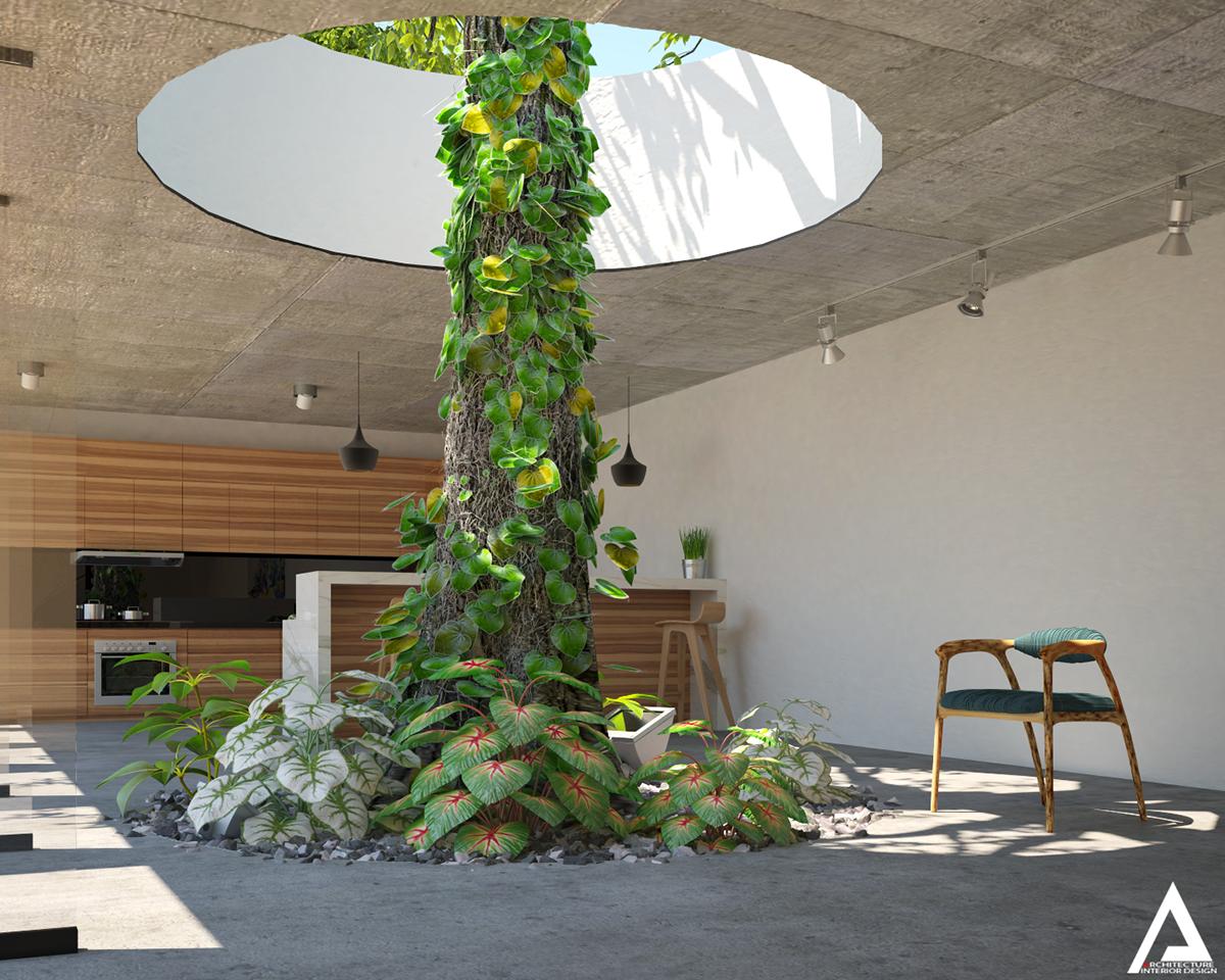 thiết kế Biệt Thự Villa hiện đại 105
