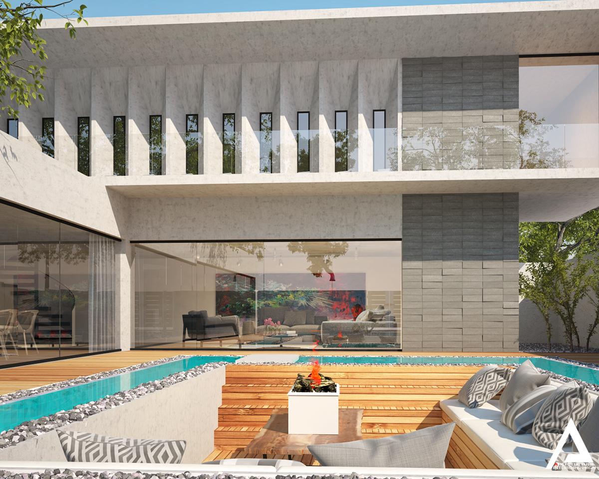 thiết kế Biệt Thự Villa hiện đại 110