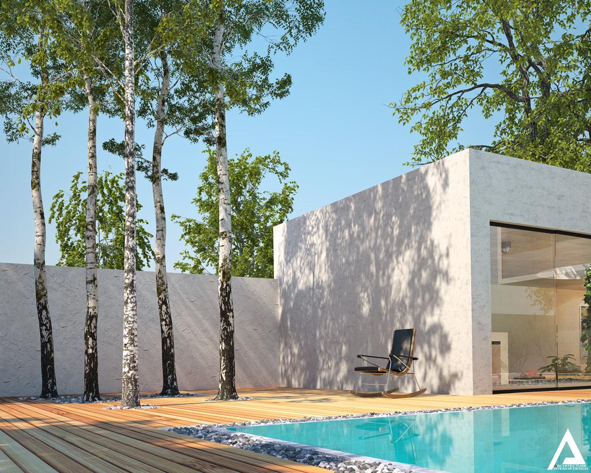 thiết kế Biệt Thự Villa hiện đại 74