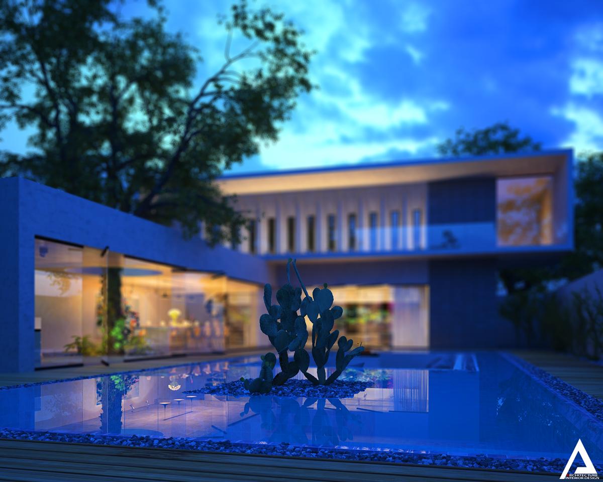 thiết kế Biệt Thự Villa hiện đại 95