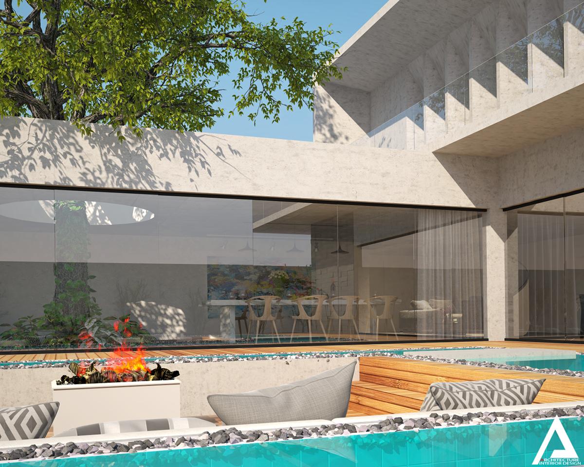 thiết kế Biệt Thự Villa hiện đại 121