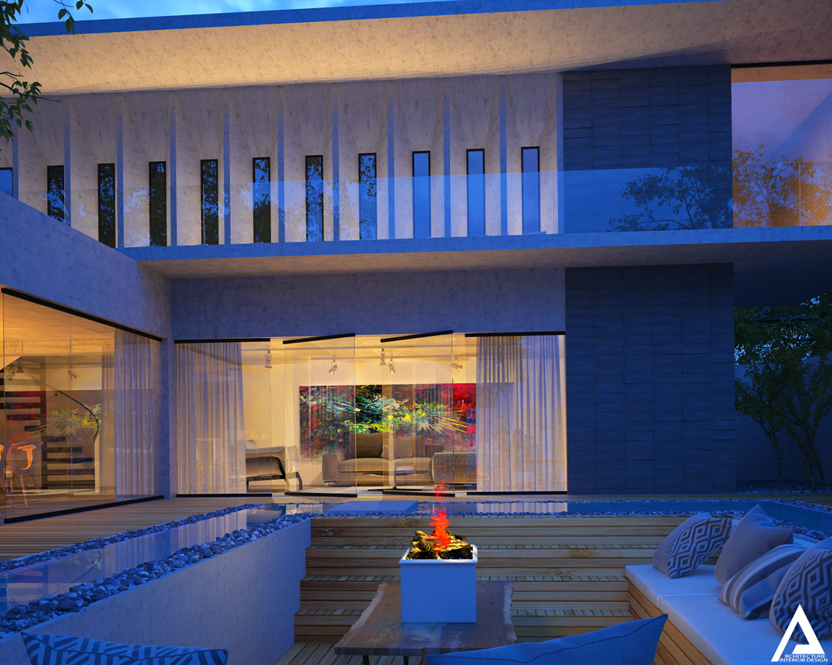 thiết kế Biệt Thự Villa hiện đại 147