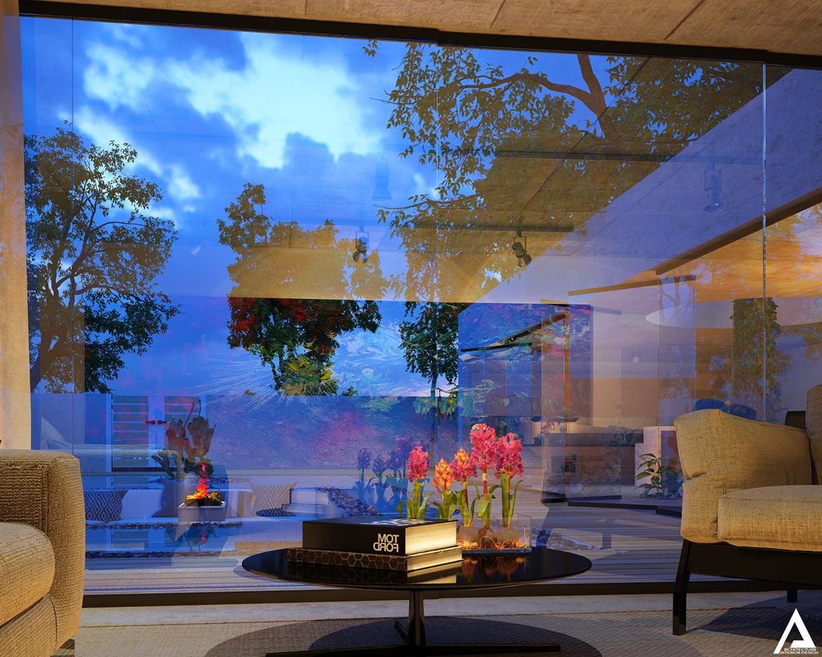 thiết kế Biệt Thự Villa hiện đại 150