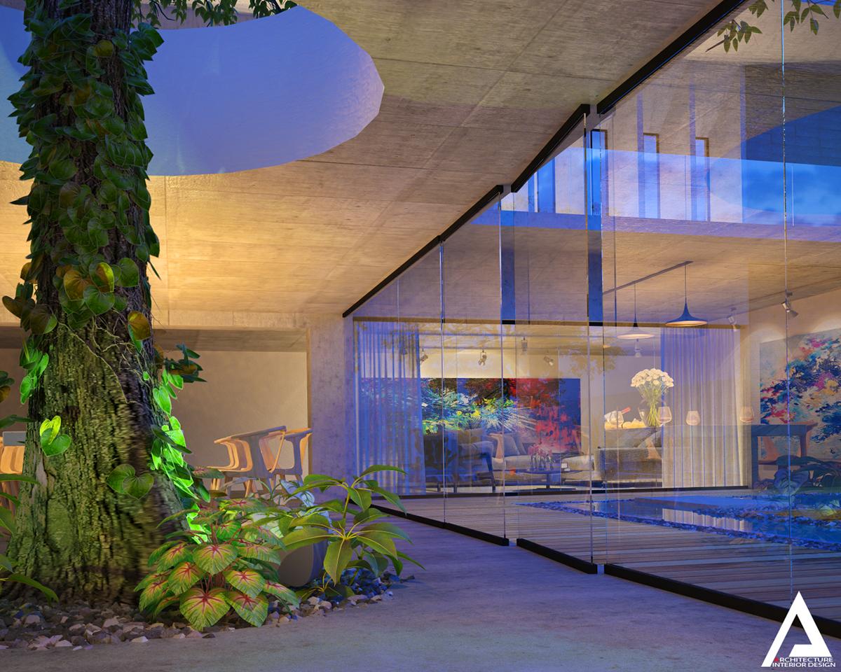thiết kế Biệt Thự Villa hiện đại 161