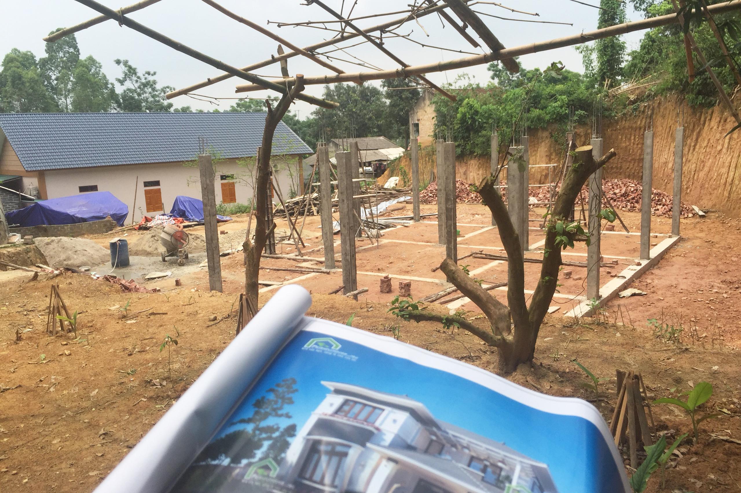 thiết kế Biệt Thự 2 tầng tại Phú Thọ Thiết kế biệt thự 2 tầng tại Phú Thọ 7 1564398701