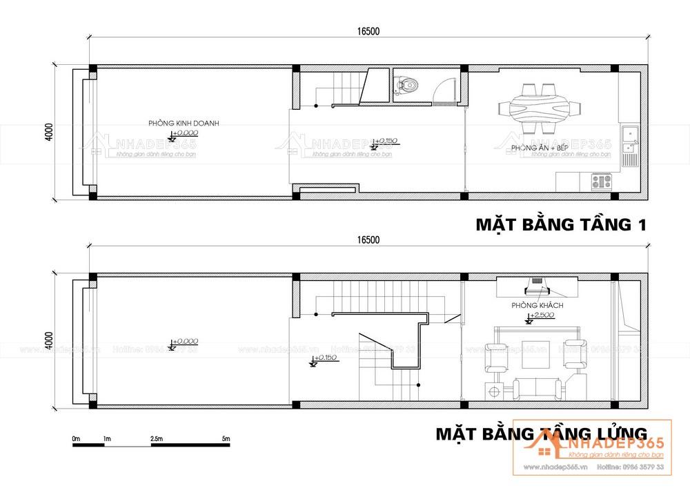Thiết kế Nhà Mặt Phố tại Bắc Ninh Thiết Kế Nhà Phố 4 Tầng Diện Tích 4×16,5m Hiện Đại Tại Bắc Ninh 1589873213 1