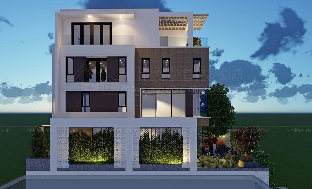 Thiết kế Nhà Mặt Phố tại Hà Nội Nhà Ở 5 Tầng Kết Hợp Văn Phòng Cho Thuê Diện Tích 10×20m 1589872779 12