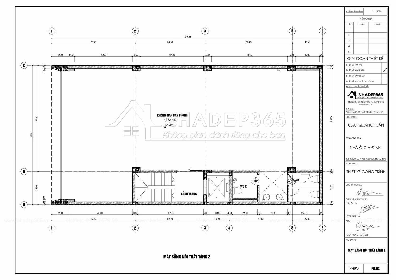 Thiết kế Nhà Mặt Phố tại Hà Nội Nhà Ở 5 Tầng Kết Hợp Văn Phòng Cho Thuê Diện Tích 10×20m 1589872779 18